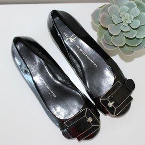 Sarto Franco patent leather flats size 7